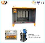 Cabina di spruzzo classica della polvere del filtro dalla cartuccia con le rotelle