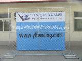 직류 전기를 통한 체인 연결 Fence/PVC 입히는 체인 연결 담 또는 다이아몬드 철망사 체인 연결 담 (실제적인 공장에서)