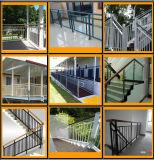 Aluminiumbalkon-Handläufe und Zaun