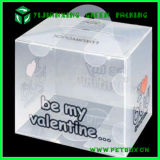 Packaging fait sur commande Boxes avec Logo Clear Plastic Transparent Gift Container Box