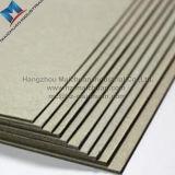 Livre de livre À couverture dure gris stratifié par dureté intense de carton