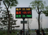 Programmable Tri-Color LED Display di P10 Outdoor