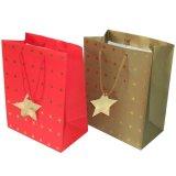 Kundenspezifischer Druckpapier-Einkaufen-Geschenk-Beutel