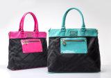 Handtassen van de Vrije tijd van Triming van de Krokodil van de elegante Dame de Donkerblauwe (HA)