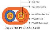 Плотно кабель Interconnect Zipcord буфера с курткой Figure-8 PVC/LSZH