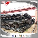 REG Q195 Negro Ronda de tubería de acero soldado para Muebles de tuberías