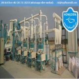 Machine de moulin de maïs de farine d'amende superbe pour le moulin de maïs de moulin à farine de l'Afrique (20t par jour)