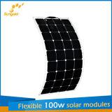 Nuovi comitati solari flessibili progettati 100W per i fornitori della Cina