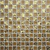 Mattonelle di mosaico Mixed del marmo della pietra di colore di disegno meraviglioso delle mattonelle della parete (FYSSD084)