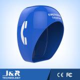 Cabina di telefono acustica della vetroresina, cabina di telefono pubblico, cabina di telefono acustica robusta