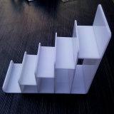 Étalage acrylique clair durable Stand-5, 6, 7 niveaux de pochette