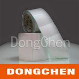 Collant blanc de papier synthétique auto-adhésif de pp pour l'impression de jet d'encre