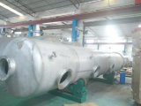 Grand réservoir de stockage horizontal extérieur d'acier inoxydable