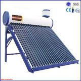 銅のコイルの太陽給湯装置