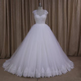 Netzkabel Lace A - Zeile Bridal Gowns White Wedding Dress