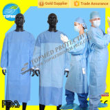 Eo-Sterilized ou Not médico Isolation Gown/Surgical Gown Free Size