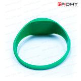 Bunter RFID SilikonWristband des 1 Zoll-Anzeigen-Abstands-