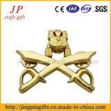 Emblema / Pin de esmalte de metal de liga de zinco personalizado de alta qualidade