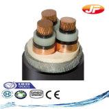 Câble blindé isolé par XLPE de fil d'acier de la qualité 1/11kv