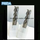 Твердый Helix каннелюры карбида 3 торцевые фрезы алюминия 45 градусов