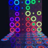 Танцевальная площадка Acrylic IP65 портативная динамическая СИД патента управлением самой новой конструкции горячая продавая DMX водоустойчивая