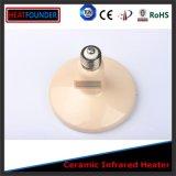 Type en céramique infrarouge en céramique de chaufferette d'infrarouge lointain de chaufferette