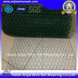 PVCによって塗られる電流を通された六角形の金網または鶏網またはワイヤー網