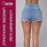 I pantaloni di scarsità mettono la signora in cortocircuito Jean Shorts (L460)