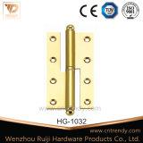 Латунный H-Тип съемный плоский шарнир двери с коронованнаяом особа (HG-1028)