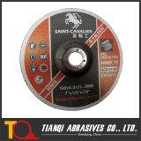 Подавленный колесо шлифовки центров T27 для металла 180X6X22.23