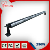 250W diodo emissor de luz Light Bar para Tratora, Machineshop Truck