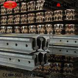 De spoorweg, Mijn, Mijnbouw, Kraan, graaft het Zware Spoor van het Staal een tunnel