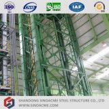 고층 격자 광속 강철 구조물 작업장