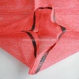 Chinarotes Drawstring-Polypropylen-L-Nähender Linon-Ineinander greifen-Beutel