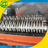 Trinciatrice della doppia asta cilindrica/macchina di plastica del frantoio per rifiuti urbani residuo/di legno/gomma/gomma piuma/cucina
