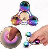 Regenbogen UFO-Unruhe-Spinner mit Zink-Legierungs-Form