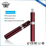 Cigarette électronique en verre exclusive de Vape d'acier inoxydable avec la batterie 450mAh
