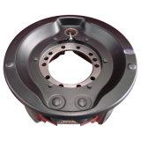 ABSが付いている砂型で作る車輪ハブ