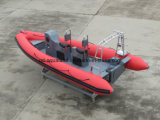 Steifes aufblasbares Rettungsboot China-Aqualand 19FT 5.8m/Rippen-Tauchens-Boot/Trainer-Boot/MilitärPatrouillenboot (RIB580T)