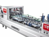 Máquina de Xcs-800PF Prefolder Gluer para a caixa de quatro tipos