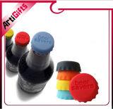 Подгонянная крышка бутылки силикона пива качества еды