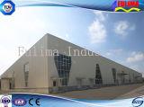 Edificio prefabricado galvanizado sumergido caliente/estructura de acero (FLM-004)