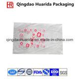 Bolso de empaquetado de la ropa plástica Ziplock con la impresión modificada para requisitos particulares de la insignia