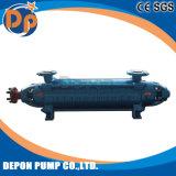 Pompa ad acqua elettrica della pompa a più stadi orizzontale con il motore