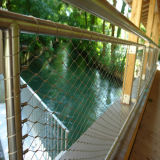 ステンレス鋼ケーブルロープの手すりの網