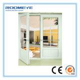 Francês dobro do Casement Doors/UPVC da alta qualidade UPVC de Roomeye