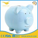Персонализированный керамический подарок коробки сбережения деньг крена монетки Piggy крена
