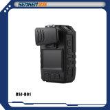 Cámara desgastada carrocería estupenda impermeable del IP de la vigilancia de la policía de la talla HD de Senken mini con Construir-en el GPS