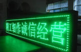 Módulo ao ar livre verde do indicador de diodo emissor de luz da cor P10-1g