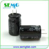 Condensador electrolítico de aluminio al por mayor de SMD 220UF SMD